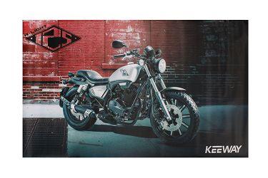 image 1 for BANER KEEWAY K-LIGHT 125 VER. 1 120X300 CM