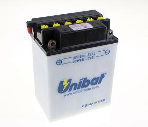 image 1 for AKUMULATOR UNIBAT  CB14A-A1  AKK000065  Z ELEKTROLITEM